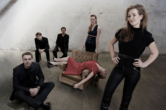 Ensemble Lydenskab - musikalske sparringspartnere og praktiske tovholdere.